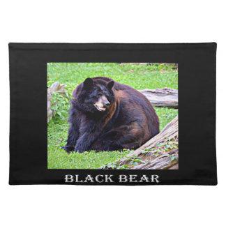 Bear (Black) Placemat
