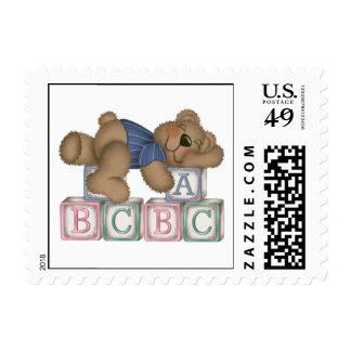 Bear Blocks Stamp