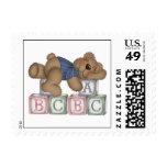 Bear Blocks Postage Stamp
