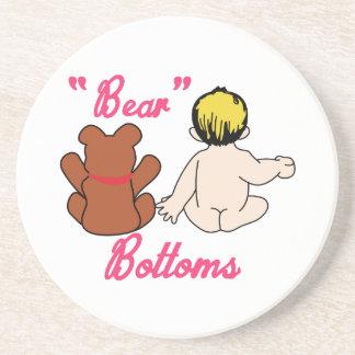 Bear Bottoms Coaster