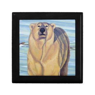 Bear Box Custom Polar Bear Art Jewelry Box