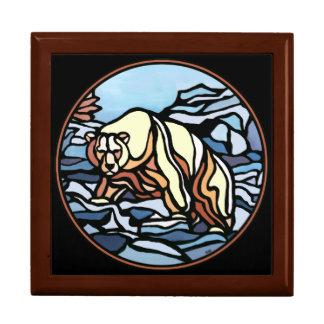 Bear Box Custom Polar Bear Jewelry Box
