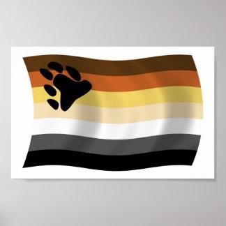 Bear Brotherhood Flag Poster Print