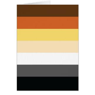 Bear Brotherhood | Pride Flag Design | Stripes | Card