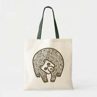 Bear Budget Tote Bag