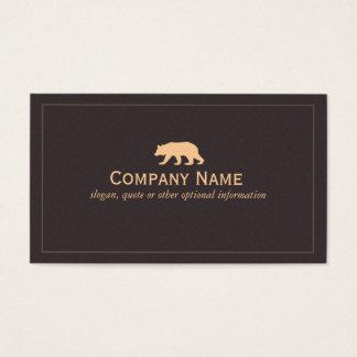 Bear Business Card