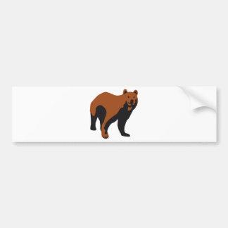 bear pegatina de parachoque