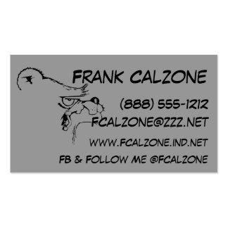 Bear Calling Card Business Cards