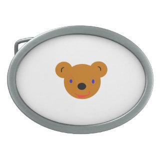 Bear cartoon belt buckle