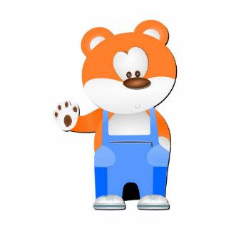 Bear cartoon photo sculptures