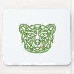 Bear Celtic Knot Mouse Pad