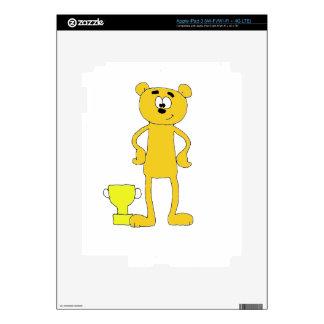 Bear Champ iPad 3 Skins