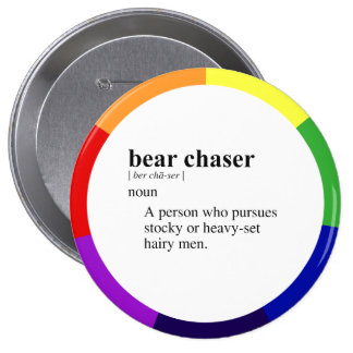 BEAR CHASER BUTTON