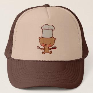 Bear Chef Doodle Art Hat