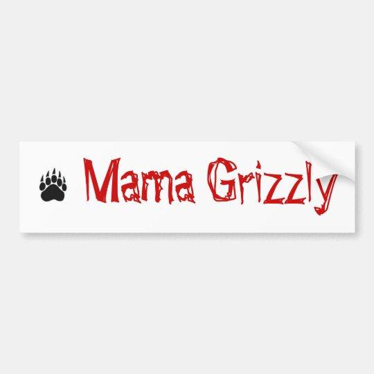 bear_claw, Mama Grizzly Bumper Sticker