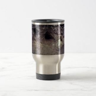 Bear Claw Marks on River Bank Coffee Mugs