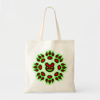 Bear Claws trick or treat tote