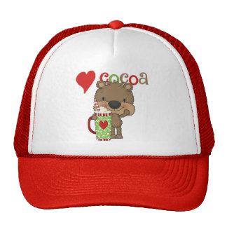 Bear Cocoa Love Holiday Trucker Hat