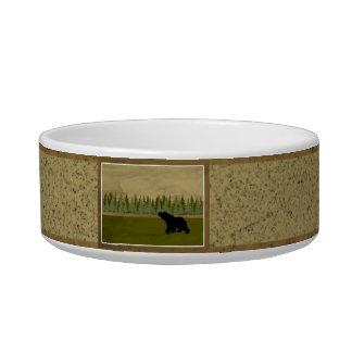 Bear Collection Serving Dish Pet Food Bowl
