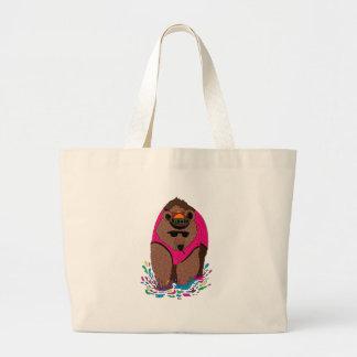 Bear Color full Jumbo Tote Bag