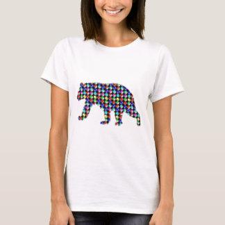 BEAR Colorful DOTS wild animal NavinJOSHI NVN53 ZO T-Shirt