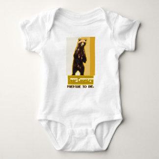 Bear Country Baby Bodysuit