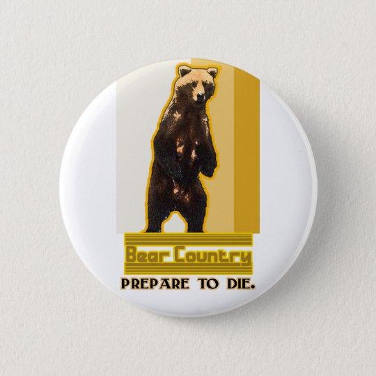 Bear Country Button