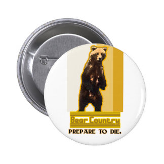 Bear Country Buttons