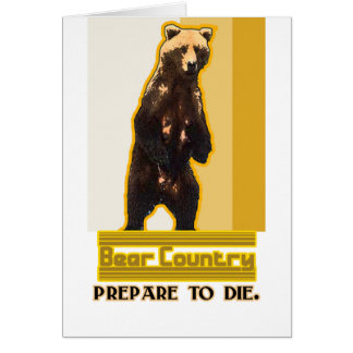 Bear Country Card