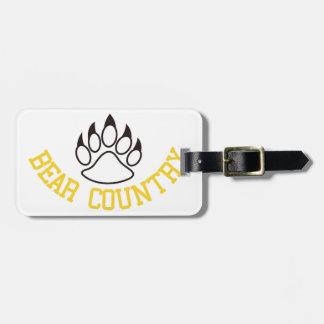 Bear Country Bag Tag