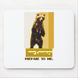 Bear Country Mouse Pad
