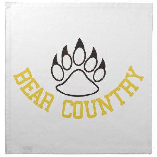 Bear Country Napkin