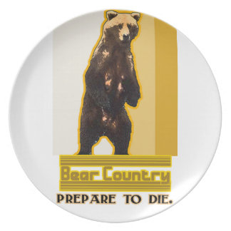 Bear Country Plates