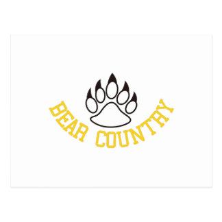 Bear Country Postcard