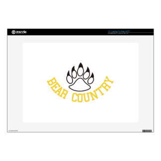 """Bear Country Skin For 15"""" Laptop"""