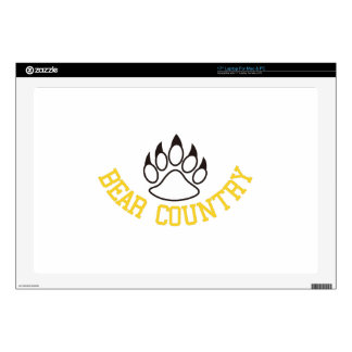"""Bear Country Decals For 17"""" Laptops"""