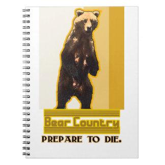 Bear Country Spiral Notebook