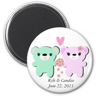Bear Couple Save the Date Magnet