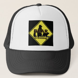 Bear Crossing black hat