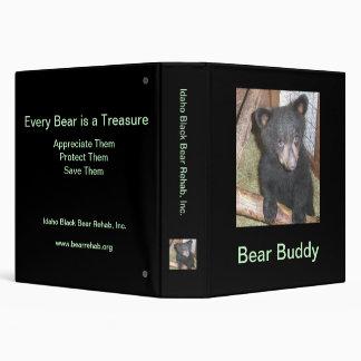 Bear Cub Avery Binder