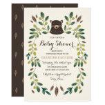 Bear Cub Baby Shower Card