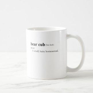 BEAR CUB (definition) Coffee Mug