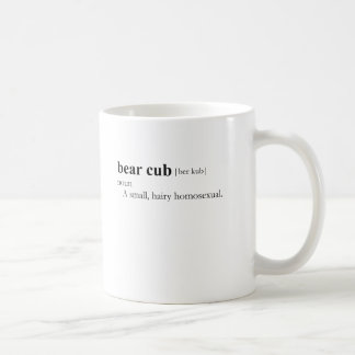 BEAR CUB (definition) Classic White Coffee Mug