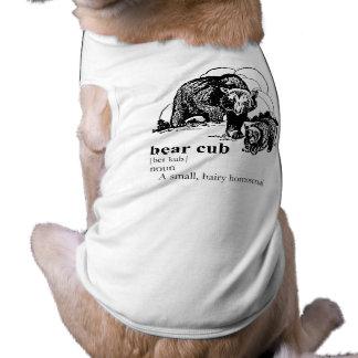 BEAR CUB DOG CLOTHES