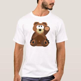 Bear cub in cuddly toy T-Shirt