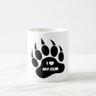Bear / Cub Mug I Heart my Cub in The Paw - Mug