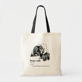 BEAR CUB TOTE BAGS