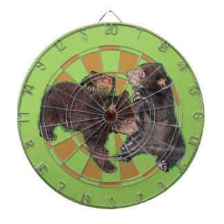 Bear cubs dart board