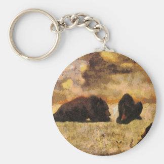 Bear Cubs Keychain