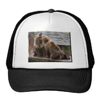 Bear Cubs On Dock Trucker Hat